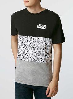 Black Star Wars T-Shirt - TOPMAN