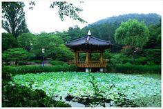 Bomunjeong Pavillion in Gyeongju, Korea