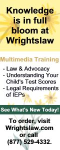 IEP FAQs Pop-Up: Developing Your Child's IEP Question 1 - Wrightslaw.com
