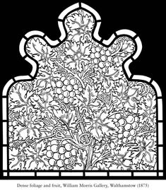 welcome to dover publications william morris stained glass coloring book