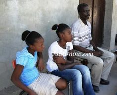 Mr. Edmond, a teacher in St. Marc, has invested his time and knowledge for the past 12 years educating poor kids in the 6th grade (Aemsa St Marc, Haiti)
