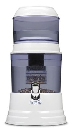 nice Santevia Water Filtration System - Counter Top Model, 1 Unit