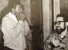 Little Walter Plays at Theresa's Lounge in 1965 as Bob Koester of Delmark Records Listens