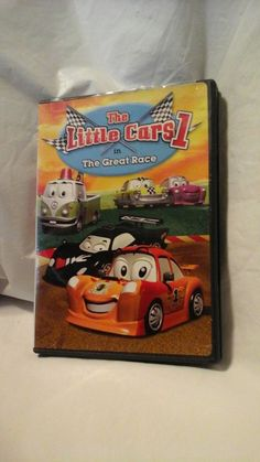 The Little Cars 1 The Great Race (Animated Childrens Adventures Fullscreen DVD)