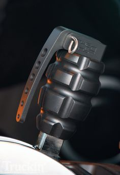 More Cool Jeep Gear - Grenade shifter nobs