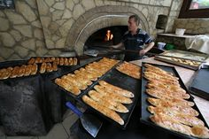 Yummy pide! Fresh from the oven, NE Turkey