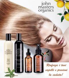 Il trattamento Scalp System di John Masters Organics è pensato per il naturale rafforzamento dei capelli attraverso la stimolazione della cute e dei follicoli. Composto solo da estratti organici vegetali, è indicato per persone che soffrono di caduta e indebolimento, ma è ottimo anche su cute grassa e forforosa!