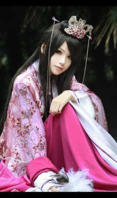 ❈ Geisha by Sky ❈ Hanfu, China Girl, Chinese Culture, Beautiful Asian Women, Asian Style, Cosplay Girls, Traditional Dresses, Asian Fashion, Asian Woman