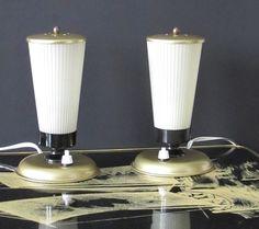 Vintage Lampe für den Nachttisch - 50er 60er von ShabbRock Republic auf DaWanda.com