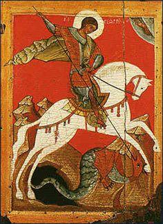 Saint George icône