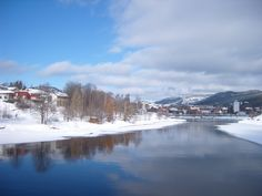 Vinterelv, Kongsberg. My Town, Norway, Cities, River, Outdoor, Outdoors, City, Outdoor Games, Outdoor Life