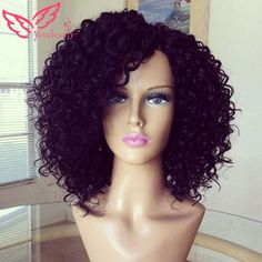 peruvian full lace curly hair wig