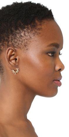 Shashi Lola Hoop Earrings | SHOPBOP