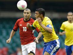 Thiago Silva, seleção brasileira, Brasil, Brazil, futebol, soccer, comemoração, jogador