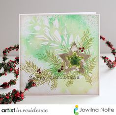 imagine the possibilities: Christmas in July | Imagine Crafts and Stencil Girl.