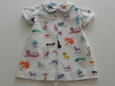 Vintage Inspired Dog Dress- Zippity Do Da