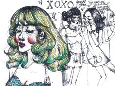 Gossip gals, Kathrin Honesta