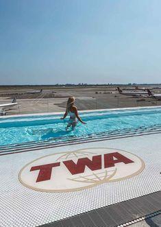 TWA Hotel New York City 1960s Travel Hotel JFK