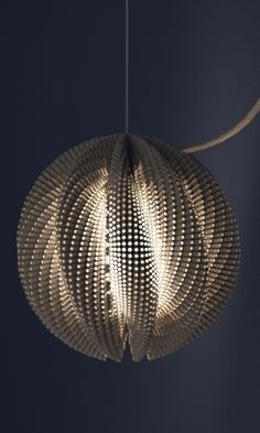 3d printed lampshade by studioluminaire. Find out more on ww.fabneo.com