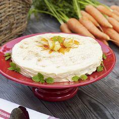 Morotskaka är suveränt gott, speciellt med valnötter och citron.