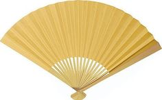 Hand Held Fan Lemonade Yellow) - Folding Paper Fan for Weddings and Personal Use - In the Style of Chinese, Japanese, and Spanish Fans Hand Held Fan, Hand Fans, Best Wedding Favors, Wedding Stuff, Wedding Ideas, Vintage Fans, Yellow Paper, Paper Fans, Art Deco Wedding