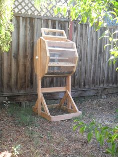 Items similar to Compost Tumbler Sifter on Etsy Compost Maker, Compost Soil, Garden Compost, Worm Composting, Permaculture Garden, Vegetable Garden, Diy Garden Furniture, Diy Garden Projects, Garden Ideas