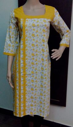 Colors & Crafts Boutique™ offers unique apparel and jewelry to women who value versatility, style and comfort. For inquiries: Call/Text/Whatsapp Neck Designs For Suits, Dress Neck Designs, Designs For Dresses, Blouse Designs, Neckline Designs, Salwar Pattern, Kurta Patterns, Churidar Designs, Kurta Designs Women