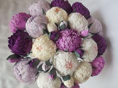 Wedding flowerswedding bouquetwedding peoniespaper by Mazziflowers, $32.50