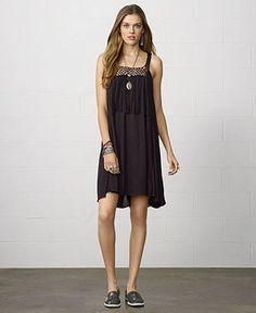 Denim & Supply Ralph Lauren Sleeveless Illusion High-Low Dress - Denim & Supply Dresses - Women - Macy's