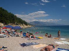 Plaża w Ruskamen  #chorwacja #croatia