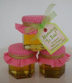 Honey Jar Baby Shower Favors  Clover Orange by OldTimeFavorites, $1.85