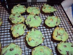 Cranberry pistachio cookies