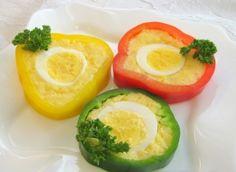 Холодные закуски из фаршированного перца / Простые рецепты Avocado Egg, Food Art, Eggs, Breakfast, Recipes, Breakfast Cafe, Egg, Rezepte, Recipe