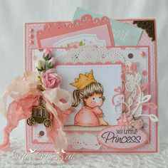 Stamp and Create with Magnolia: Challenge #15: Summer Royalty