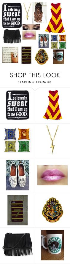 """""""Harry potter!!"""" by catie456 ❤ liked on Polyvore featuring Slater Zorn, Bling Jewelry, TOMS and White House Black Market"""