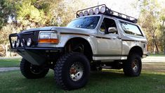 1992 Ford Bronco HP, Roll Cage presented as lot at Anaheim, CA Chevrolet Trucks, Chevrolet Corvette, Ford Trucks, Pickup Trucks, 1957 Chevrolet, Diesel Trucks, Ford Gt, Ford Mustang, 1979 Ford Bronco