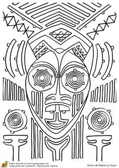 Masque Deesse Africaine, page 11 sur 12 sur HugoLescargot.com
