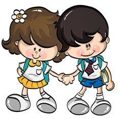 ESCOLA & FORMATURA Cute Images, Cute Pictures, Cool Clipart, Teaching Posters, Bible For Kids, Cute Crafts, Cute Illustration, Blue Moon, Cartoon Art