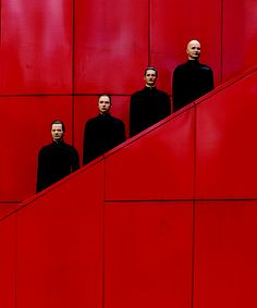 Kraftwerk - by PETER BOETTCHER  This picture was burned into my being in my late teens/early 20s :)