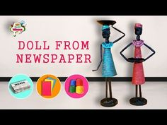 How to make doll from Newspaper and Tissue paper | African doll II DIY Craft Ideas #DIYCraftsforGirls #African, #AfricanDollWallHangingDoorHanging, #ArtAndCraftForKindergarten, #BestAfricanDoll, #BestOutOfWasteIdeasFromPaperArt, #ColoredPaperCraftIdeas, #Craft, #CraftMaking, #CreativeArtFromBackpack, #DecorItemsByUsingWasteBestAfricanDoll, #DIY, #DIYCraftIdeas, #DIYNewspaperBestFromWaste, #Doll, #FlowerVaseOutOfNewspaper, #HowToMakeAPaPerVase, #HowToMakeAPaperVase, #Ideas