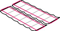 Calculate just how much fabric you need for a DIY Slide Wire Canopy at the Sailrite Fabric Calculator.