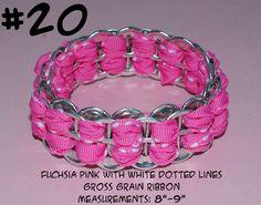 Upcycled Soda Pop Aluminum Can Pull Tab Fashion Jewelry Ribbon Bangle Bracelet | eBay