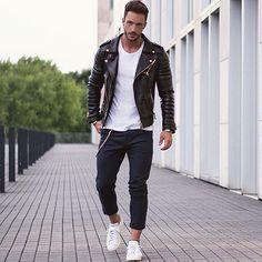 I need a leather jacket