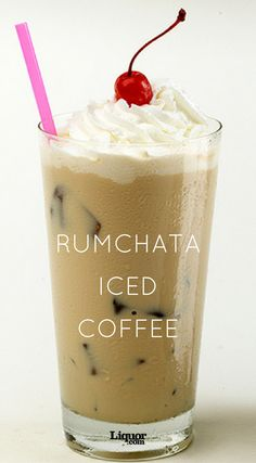 RumChata Iced Coffee for a Double Buzz This two-ingredient coffee cocktail is the perfect way to wake up. Start your morning with a kick, all you need is your regular brew and some tasty Rumchata. Coffee Drink Recipes, Coffee Cocktails, Alcohol Drink Recipes, Cocktail Drinks, Cocktail Recipes, Ninja Coffee Bar Recipes, Fun Drinks Alcohol, Rumchata Drinks, Rumchata Recipes