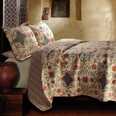 Just ordered this beautiful Esprit Spice 3-Piece Quilt Set. I'm in love.