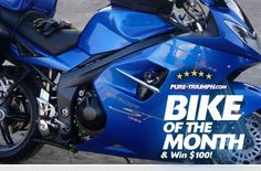 Tim's January 2012 Bike of the Month - a stunning blue Sprint ST