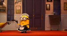 Minions MY GIF so © to me © page is my last.fm & deviantART Rules: Don't edit it. Despicable Me - Minions 03 Despicable Me 2 Minions, Minions Love, Minion Toy, Minion Stuff, Steve Carell, Picture Movie, 2 Movie, Movie Scene, Pierre Coffin
