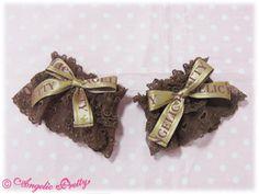 Angelic Pretty - Melty Chocolate Wrist Cuffs