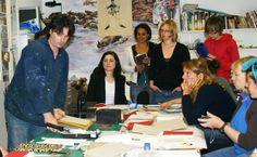 Tom O'Reilly Teaching a class