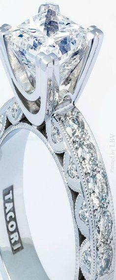 Tacori ♥✤Diamond Engagement RIng